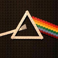 Pink Floyd - Dark Side Of The Moon - Done in legos