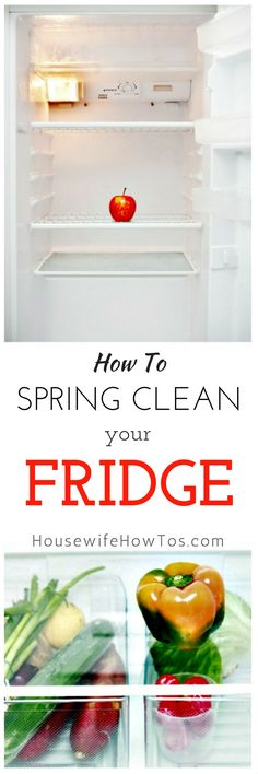 How To Spring Clean A Refrigerator So clean and it runs better now too! - Refrigerator - Trending Refrigerator for sales. - How To Spring Clean A Refrigerator So clean and it runs better now too! Cleaning Recipes, House Cleaning Tips, Diy Cleaning Products, Cleaning Solutions, Deep Cleaning, Cleaning Hacks, Cleaning Schedules, Weekly Cleaning, Kitchen Cleaning