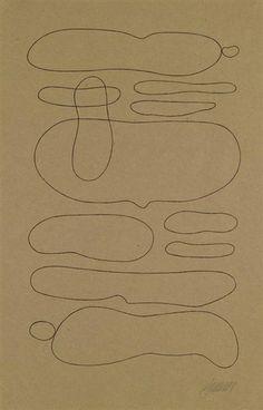 Willi Baumeister, Linienformen Horizontal-abstrakt, 1937