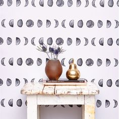 Currently inspired by: New Moon  Removable Wallpaper on Fab.com