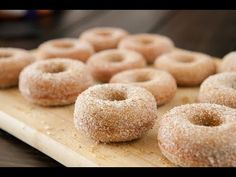 This easy homemade recipe makes soft and delicious Pumpkin Sugar Donuts! Recipe makes 1 dozen donuts. One of the BEST Fall Pumpkin dessert recipes! Stop the presses. Donut Pan Recipe, Donut Recipes, Baking Recipes, Dessert Recipes, Desserts, Doughnut Pan, Cookie Recipes, Sugar Pumpkin, Baked Pumpkin