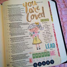 Journaling Bible - Psalm 139