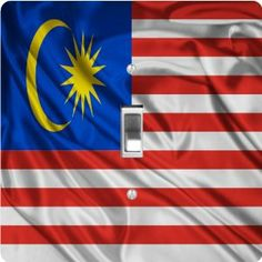 """Rikki KnightTM Malaysia Flag - Single Toggle Light Switch Cover by Rikki Knight. $13.99. The Malaysia Flag single toggle light switch cover is made of commercial vibrant quality masonite Hardboard that is cut into 5"""" Square with 1'8"""" thick material. The Beautiful Art Photo Reproduction is printed directly into the switch plate and not decoupaged which make these Light Switch Plates suitable for use in any room in the office, home, etc. etc.. These Light Switch Plates can also..."""