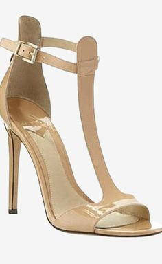 B Brian Atwood Nude Sandal | VAUNTE