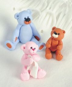 Sugar Paste Bears.