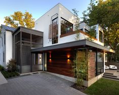 Modern Spaces Modern Prairie Style Home Design, Pictures, Remodel, Decor and Ideas - page 16 MIXED MATERIALS ON EXTERIOR