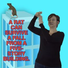 ASL Storytelling's Weird But True National Geographic fun facts