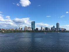 Boston from the Longfellow Bridge [OC][4032 x 3024]