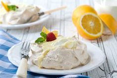 Gluten Free Creamsicle Pavlovas Recipe on Yummly. @yummly #recipe