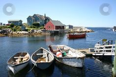 Tiny historic fishing village up north - somewhere like Nova Scotia, British Columbia, New Foundland. Places To See, Places Ive Been, My Sweet Sister, Float Your Boat, Sea And Ocean, Fishing Villages, Ocean Life, Newfoundland, Canada Travel