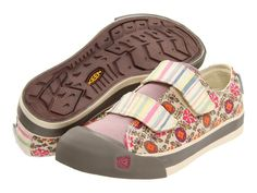 I do. :) $54.99  KEEN Womens Sula Velcro Strap Comfort Walking Shoes [ Pink Stripe ] | eBay