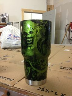 Hand Painted Stainless Steel Yeti Cup This Was A Customer