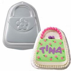The Wilton Ribbon Shaped Cake Tin This Is Helpful For Those Bake S Acs Fundraiser I Will Frost It In Lavender B Cakes And Cupcake Ideas