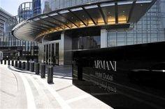 Conocé los mejores hoteles de alta costura del mundo El Armani Hotel Dubai tiene un estilo art déco y tiene servicio de spa, una discoteca, gimnasio y mucho más. / Hoteles.com