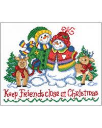 Keep Friends Close At Christmas