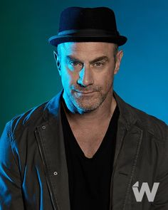 New interview with @chris_meloni talking #Underground out today. (Photographed by @corinamariephoto)