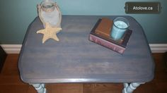 Beach style table stain redone