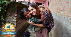 """""""Freiwilligenarbeit in Nepal"""" via VoluNation z.B: Englisch-Unterricht ...und mehrere andere Sparten in denen man freiwillig arbeiten kann"""