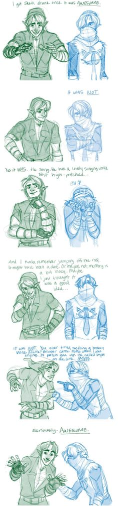 If Zelda could still turn into Sheik then I would totally do this.