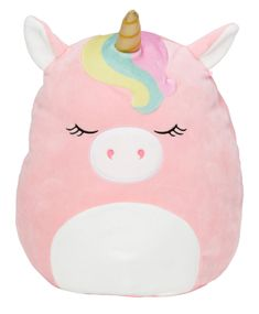 Squishmallow Llama Unicorn Pegasus 6 Inch Kellytoys New Rainbow Silver Horn Wing