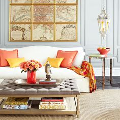 Wisteria - Furniture - Coffee Tables -  Pintucked Coffee Table - $899.00; coffee table