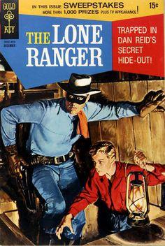 The Lone Ranger comic.