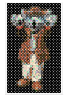 Beadspatroon van Ko Koala