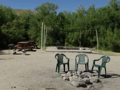 Things to do with the kids.......stay here-->Campsite at Benton Hot Springs Near Mammoth Lakes