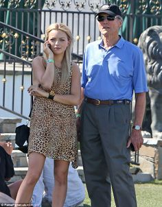 Francesca Eastwood & her father Clint Eastwood, 83,
