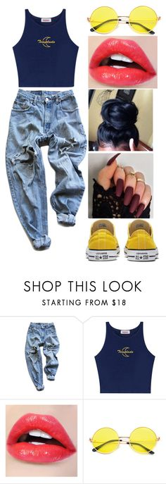 """""""Don't Let Me Be Yours"""" by meyarose31 ❤ liked on Polyvore featuring Levi's"""
