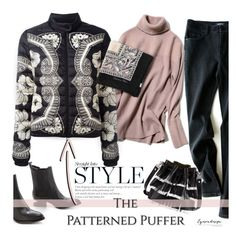 """""""The Perfect Puffer"""" by eyesondesign ❤ liked on Polyvore featuring Alexander Wang, Moncler, Proenza Schouler, puffer and eyesondesignfashion"""