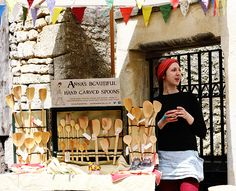 spoon carver in Frome.