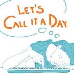 Call it a day - by Livia Prudilova - Anglicky efektívne