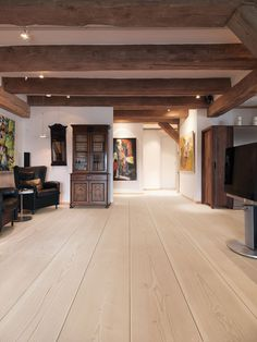 can you make love to dinesen wide plank floors?