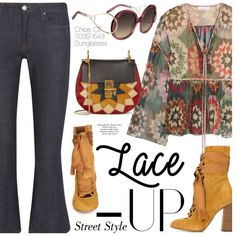 How To Wear Lace It Up 1 Outfit Idea 2017 - Fashion Trends Ready To Wear For Plus Size, Curvy Women Over 20, 30, 40, 50
