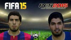 Chodzą słuchy że gra FIFA ma lepszą grafikę od PESa • Porównaj Luisa Suareza z obu popularnych gier futbolowych • Zobacz zdjęcie >> #pes #fifa #football #soccer #sports #pilkanozna