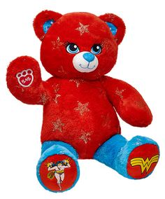 wonder woman bear build a bear