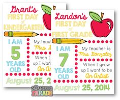 Back To School Free Printable!
