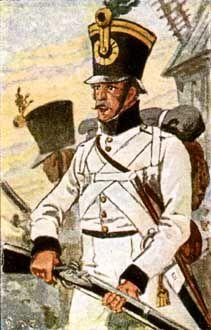 Unteroffizier vom Regiment Rudolf Nr. 14
