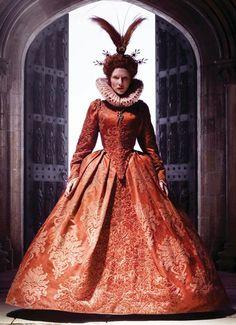 Elizabeth's Red Boat Gown ( Elizabeth The Golden Age, 2007)