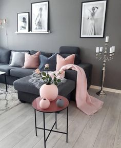 Beautiful luxury comfy living room designs for small spaces ideas 17 – fugar.sepatula room designs small spaces color Beautiful luxury comfy living room designs for small spaces ideas 17 Pink Living Room, Room Design, Comfy Living Room Design, Home Decor, Apartment Decor, Living Room Grey, Living Room Decor Modern, Interior Design Living Room, Living Decor