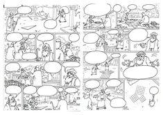 Μάθε παιδί μου γράμματα... διαβάζοντας κόμικς! |thetoc.gr New Life, Projects To Try, Diagram, Creative, Art, Math Resources, Kunst, Art Education, Artworks