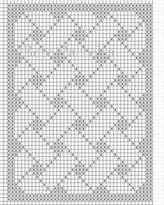 15 New Ideas Baby Blanket Print Knitting Patterns Crochet Table Runner Pattern, Tapestry Crochet Patterns, Crochet Lace Edging, Crochet Squares, Crochet Borders, Filet Crochet Charts, Crochet Diagram, Knitting Charts, Crochet Stitches