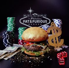 Fat Furious Burger - Already in cover of the previous issue of Fricote Magazine, the French duo of designers Thomas & Quentin founded Fat & Furious Burger, starring with talent their favorite food in various situations. Discover a selection of images in the article.
