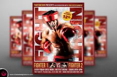 Fight Night Flyer Template V3 By Thats Design Studio