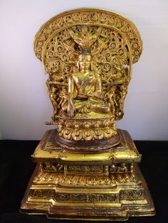 Khasa Malla Kingdom Buddha and Throne