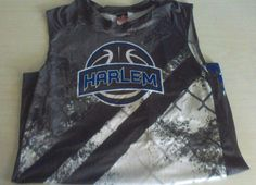 ALLESON MENS HARLEM SIZE LARGE BASKETBALL JERSEY #23 #ALLESON