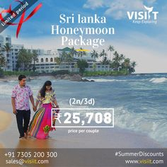 Visiit (@VisiitHoliday) | Twitter Honeymoon Packages, Travel Deals, Sri Lanka, Tours, Explore, Twitter, Couples, Movie Posters, Film Poster