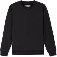 Yeezy Season 1 Women's Crew Sweat ($360) ❤ liked on Polyvore featuring tops, hoodies, sweatshirts, drop-shoulder tops, crew-neck sweatshirts, crewneck sweatshirt, crew sweatshirt y crew neck tops