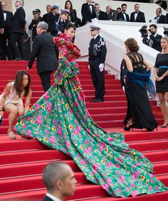 The best of the 2015 Cannes Film Festival red carpet: Viann Zhang.